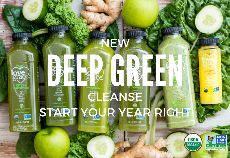 deep green juice cleanse