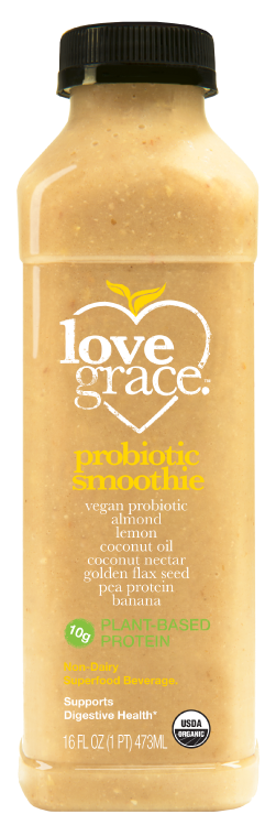 Probiotic Smoothie | love grace cold pressed organic healthy juice
