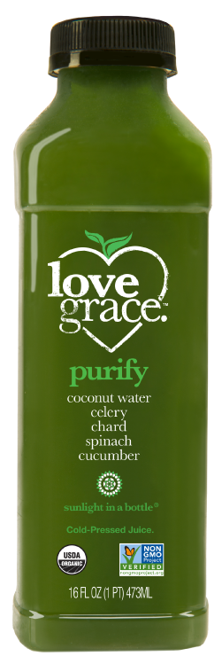 Purify | love grace cold pressed organic healthy juice