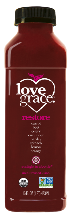 Restore | love grace cold pressed organic healthy juice