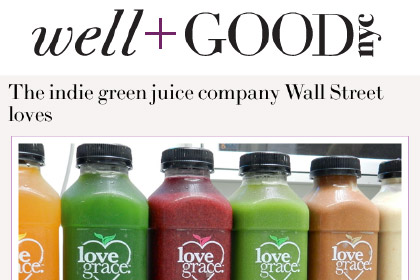 The indie green juice company Wall Street loves
