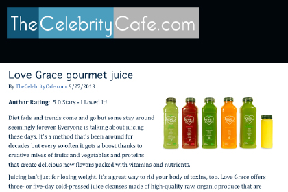 Love Grace Gourmet Juice