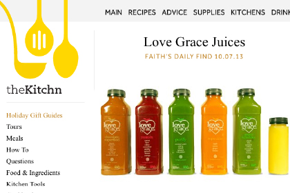 Love Grace Juices