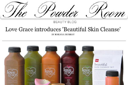 Love Grace introduces 'Beautiful Skin Cleanse'
