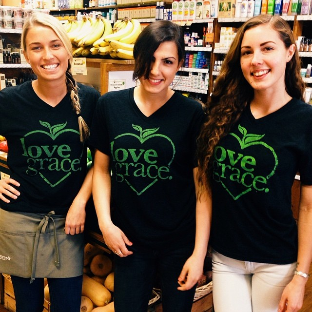 The @Cornucopiafoods team showing their Love Grace pride today!