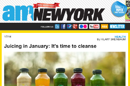 Juicing in January: It's time to cleanse