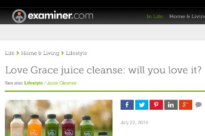 Love Grace juice cleanse: will you love it?