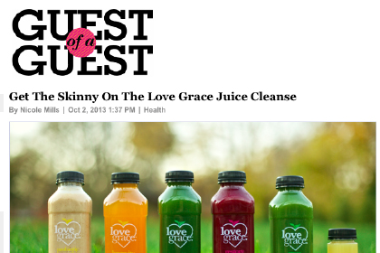 Get the Skinny on the Love Grace Juice Cleanse
