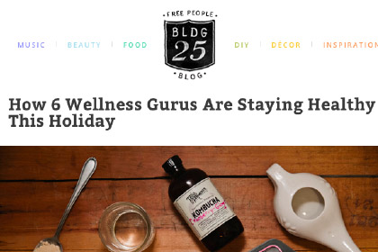 How 6 Wellness Gurus Are Staying Healthy This Holiday