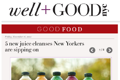 5 new juice cleanses New Yorkers are sipping on