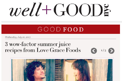 3 wow-factor summer juice recipes from Love Grace Foods