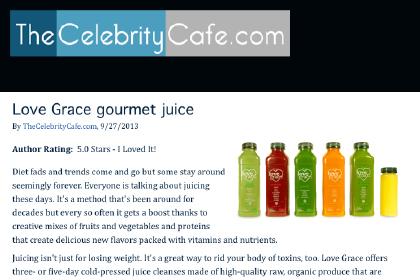 Love Grace Gourmet Juice