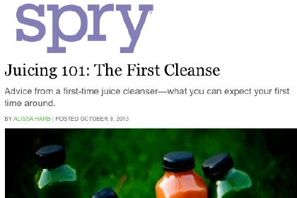 Juicing 101: The First Cleanse