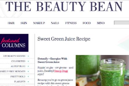 Sweet Green Juice Recipe