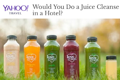 Would You Do a Juice Cleanse in a Hotel?