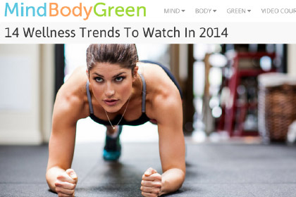 14 Wellness Trends To Watch In 2014